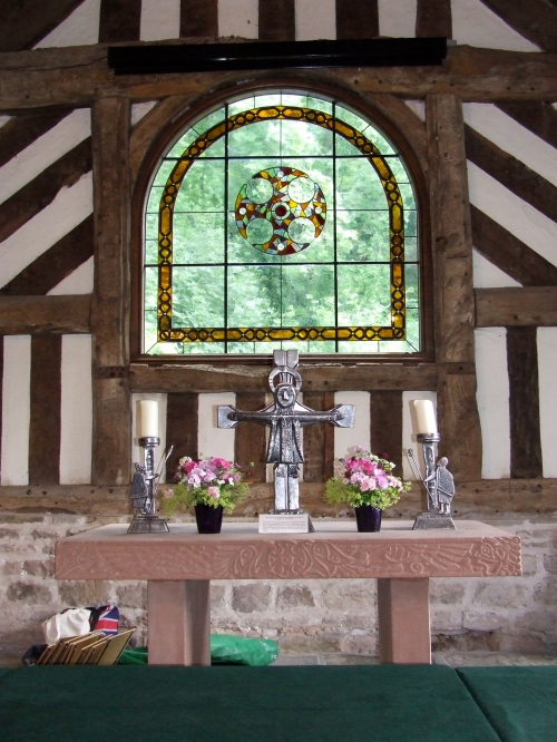 East Window unveiled. Photo: Artemisia