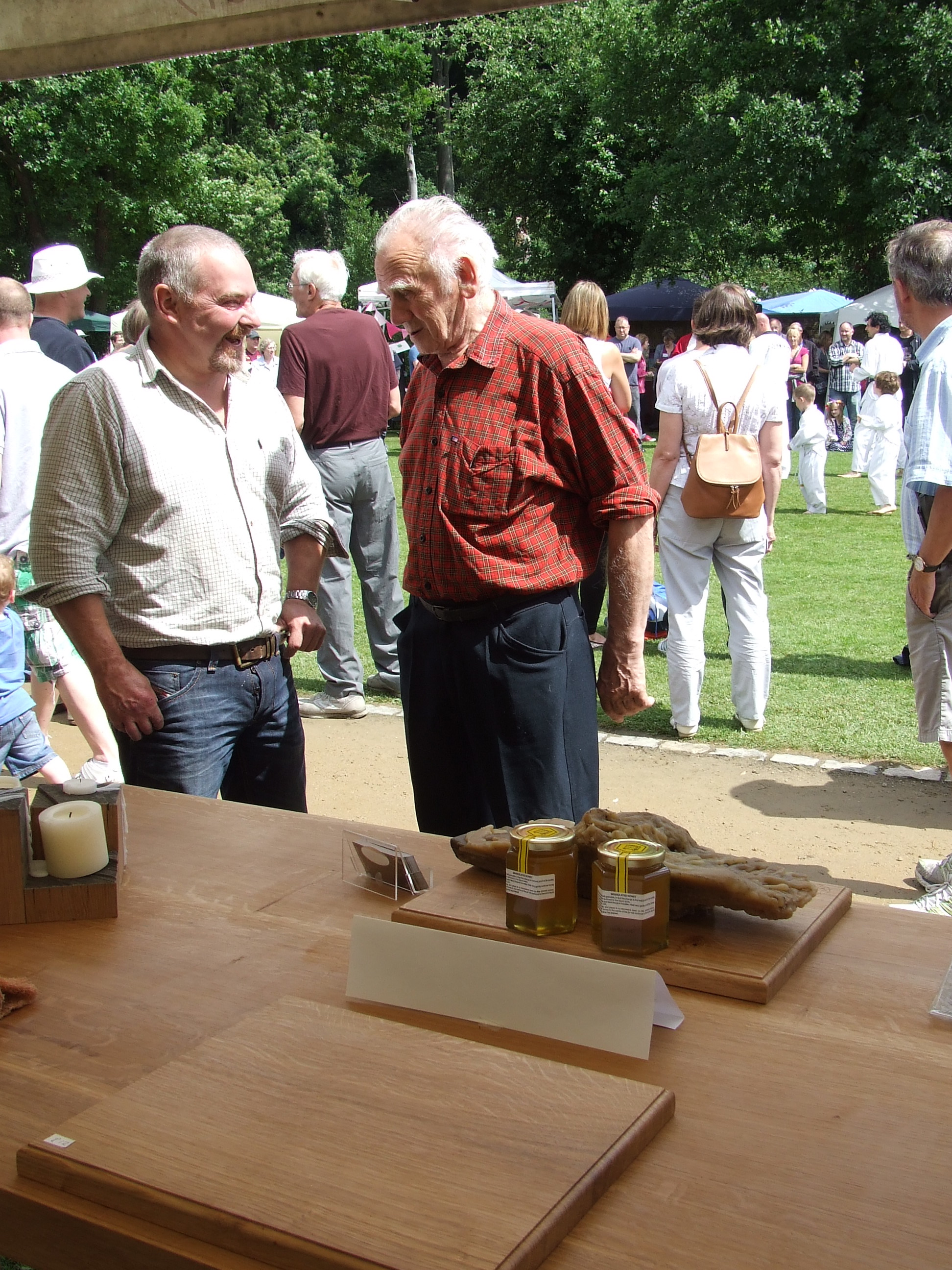Marvelous Austin And Arnie, Master Cabinet Makers And Experts In The Use Of Our Local  Beeswax