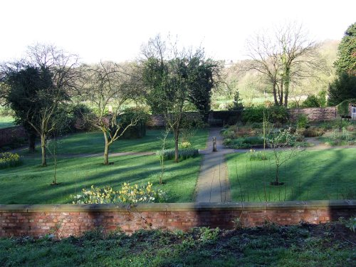 The Walled Garden from the east. Photo: Artemisia