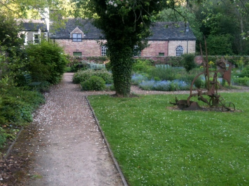 Monday morning...The Walled Garden on May Day Bank Holiday. Photo: Artemisia