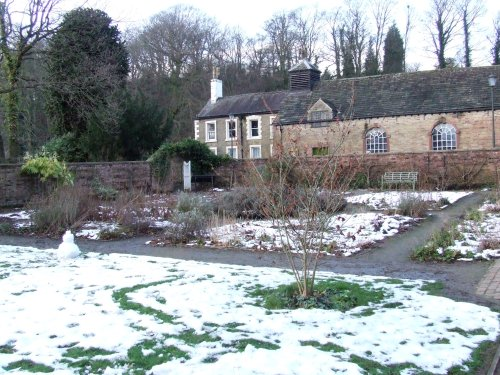 Chadkirk: The Walled Garden in February